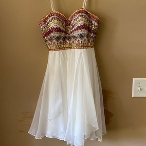 angela & alison homecoming dress